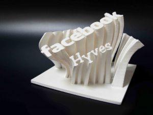 award facebook 3d geprint