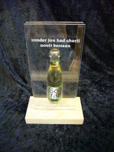award met fles