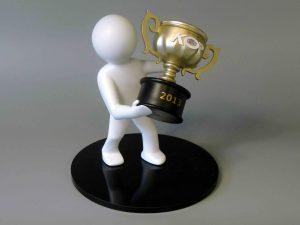 trofee 3d geprint
