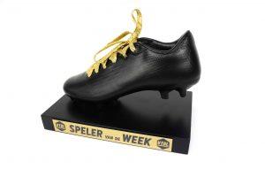 gouden veter award vtbl schoen trofee voetbal